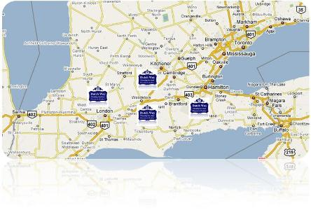 Dutch Way Cleaning Services Map